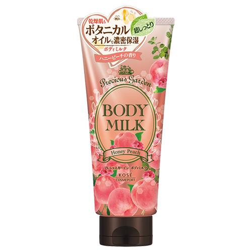 日本KOSE花園香氛身體乳【蜂蜜甜桃】200g