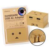 日本cheero阿愣 1A+2.1A雙USB AC充電器