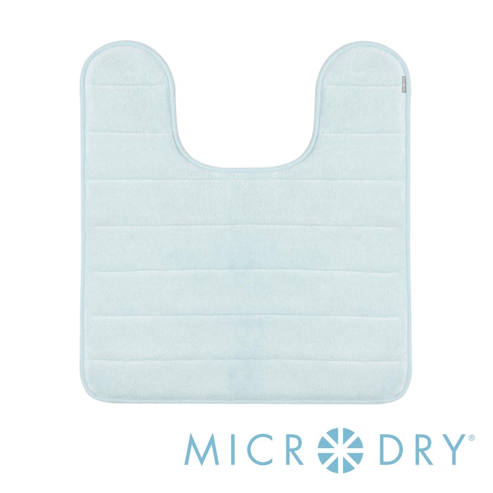 MICRODRY 舒適記憶綿浴廁浴墊-天際藍/53x61cm