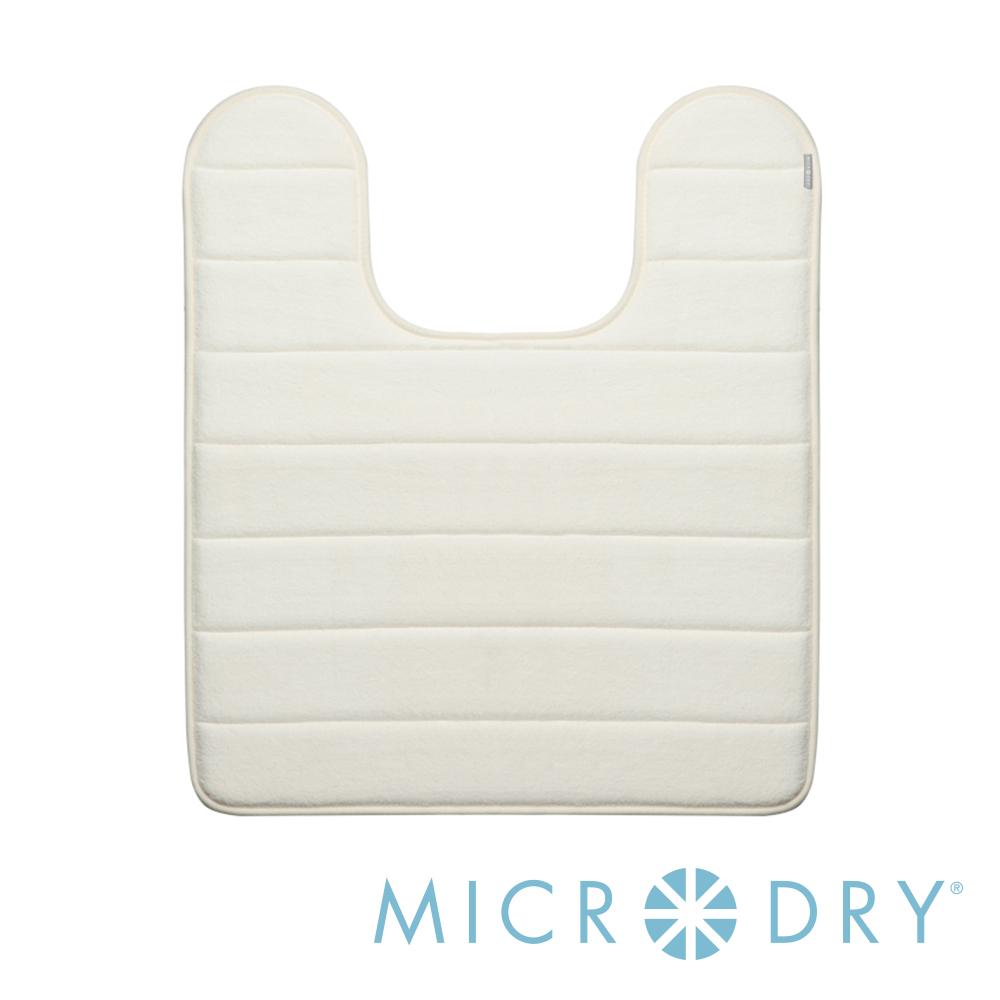 MICRODRY 舒適記憶綿浴廁浴墊-象牙白/53x61cm