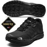 【美國 The North Face】男新款 Gore-Tex防水透氣耐磨低筒輕量登山鞋/UltrATAC橡膠外底/越野鞋.健行鞋 / 3FX4 黑