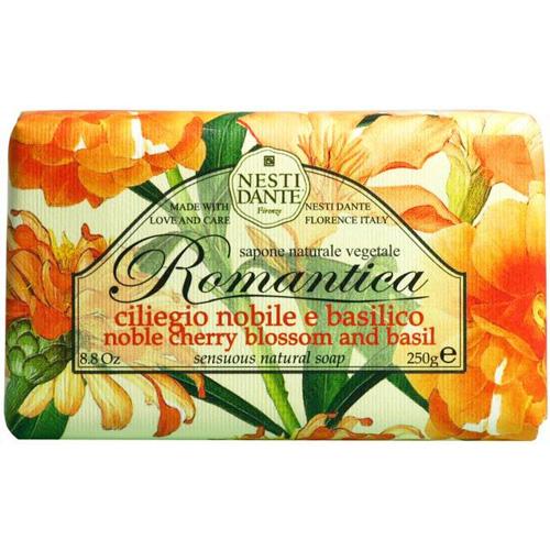 義大利Nesti Dante手工香皂【諾貝爾櫻花羅勒】250g