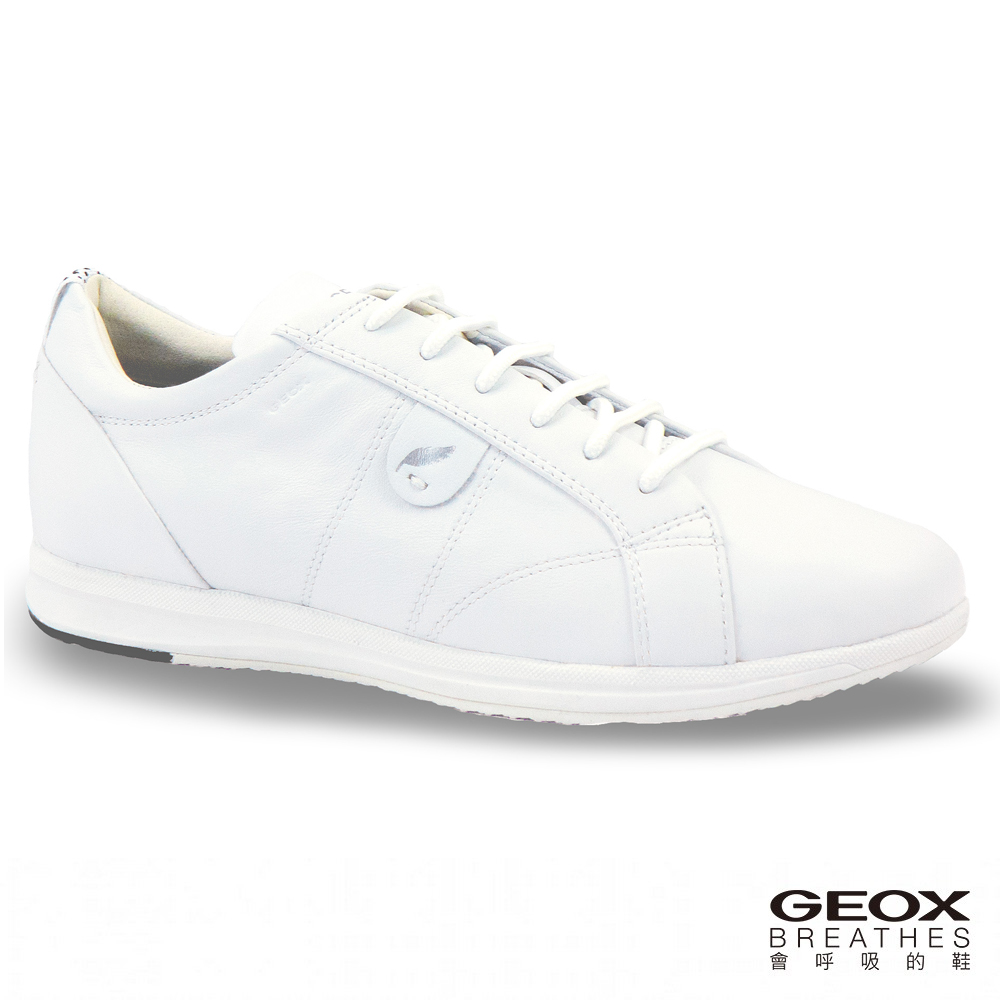 GEOX - D AVERY A  休閒鞋  牛皮 白色(D52H5A000851000)