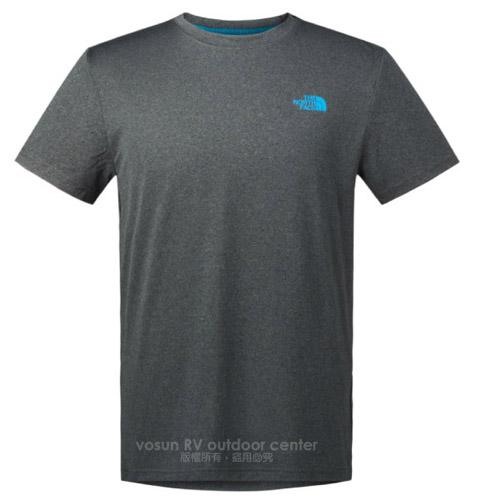 【美國 The North Face】男新款 機能性圓領短袖T恤
