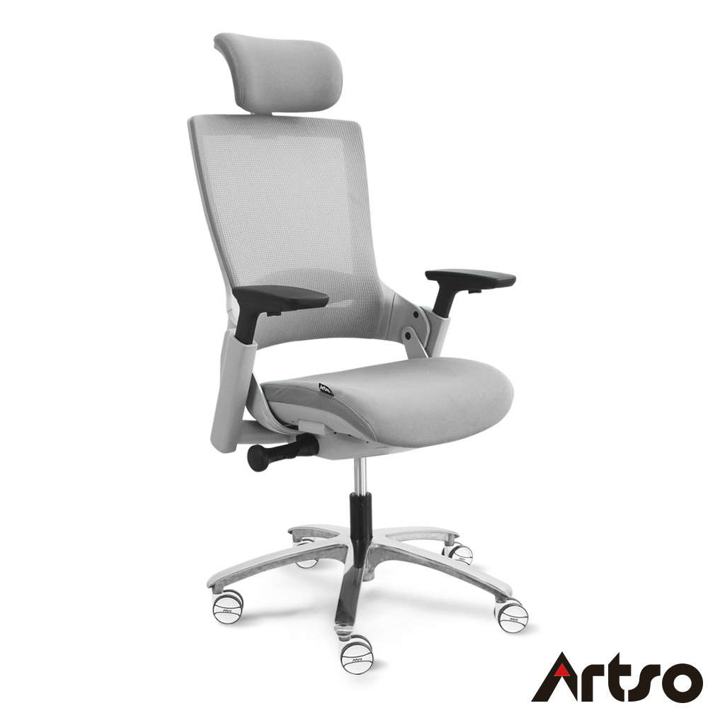 【Artso 亞梭】CL-智能椅 超舒適肩頸背腰完全密合支撐人體工學椅/辦公椅/電腦椅/健康傢俱
