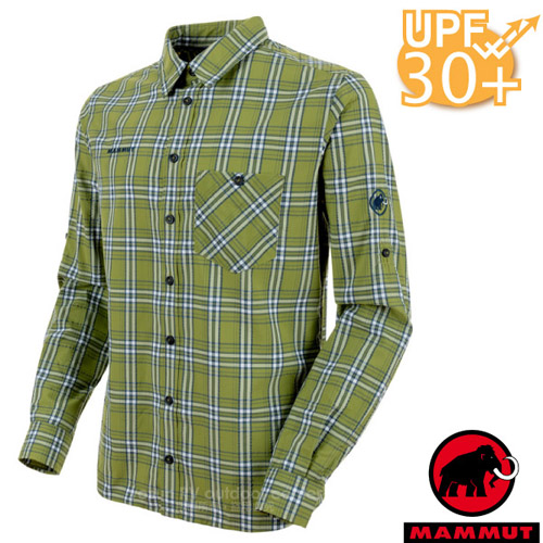 【瑞士 MAMMUT 長毛象】Belluno 男新款 彈性透氣長袖襯衫
