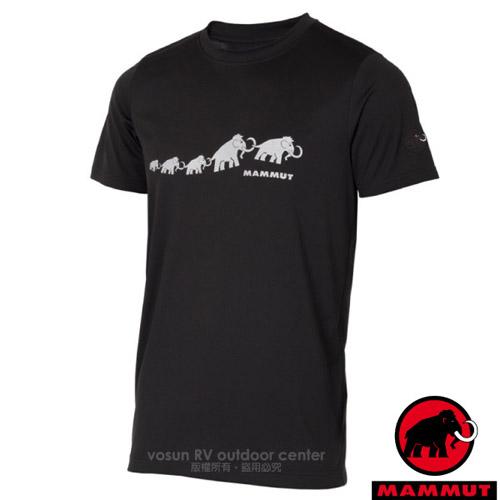 【瑞士 MAMMUT 長毛象】QD AEGILITY 男新款 彈性透氣短袖圓領T恤.吸濕排汗衣
