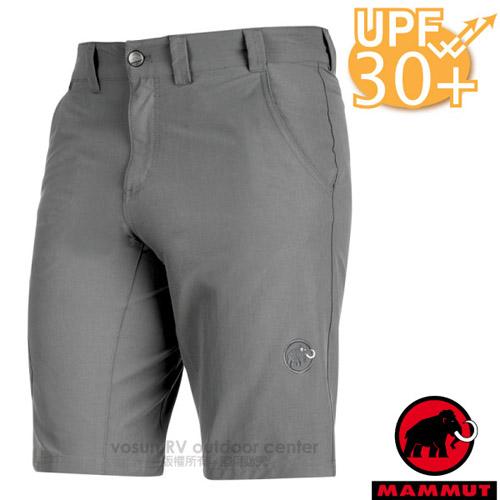 【瑞士 MAMMUT 長毛象】Hiking Shorts 男新款 彈性透氣休閒運動短褲(UPF30抗UV)