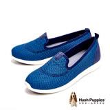 Hush Puppies 超輕量彈力休閒 女鞋-藍(另有黑)