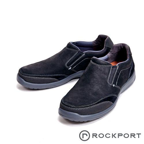 Rockport 城市玩家系列 EVA輕量底休閒 男鞋-黑(另有深咖)