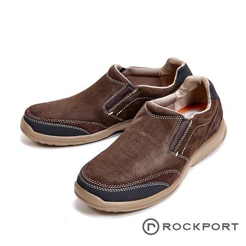 Rockport 城市玩家系列 EVA輕量底休閒 男鞋-深咖(另有黑)