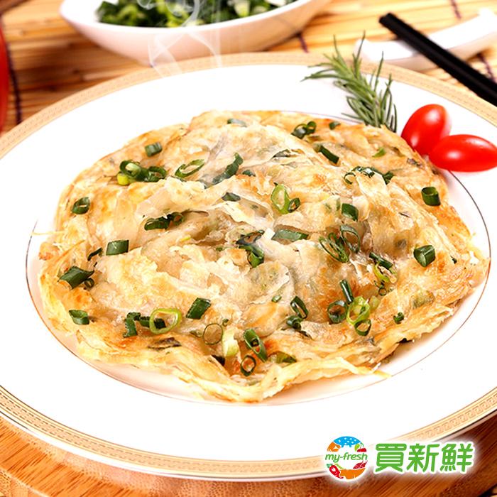 【買新鮮】拔絲蔥抓餅(140g±10%/片,1包5片裝)