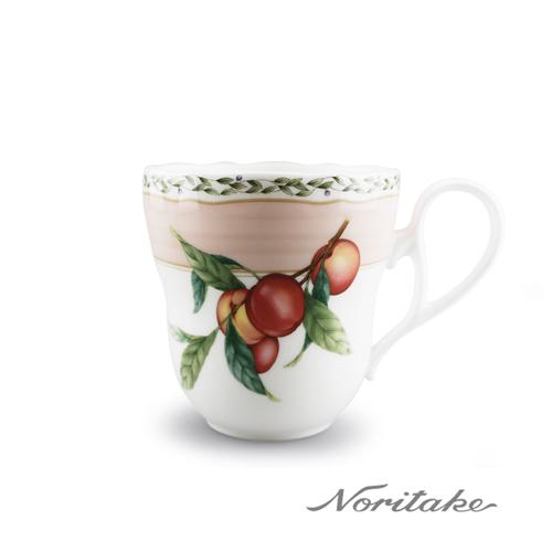 【日本Noritake】果園馬克杯-粉紅