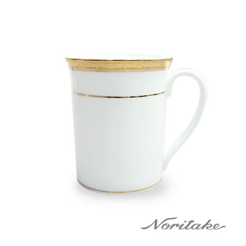 【日本Noritake】皇家系列六色馬克杯-金邊