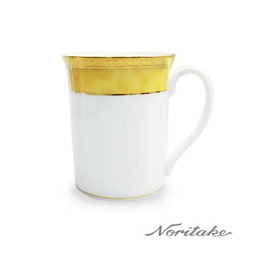 【日本Noritake】皇家系列六色馬克杯-黃邊