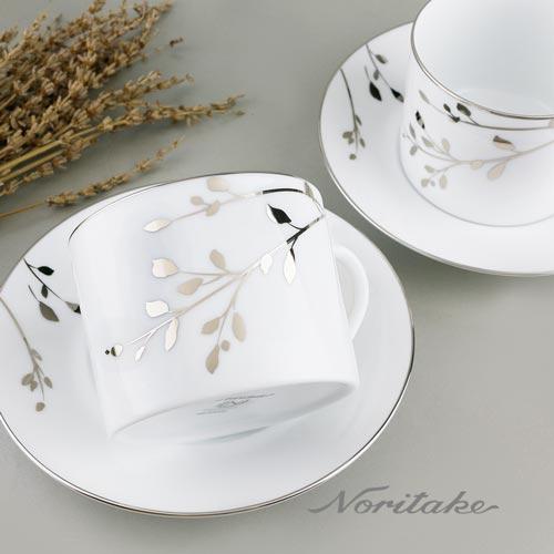 【日本Noritake】樺樹咖啡對杯
