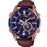 CASIO卡西歐EDIFICE沉穩時尚風格雙顯錶 ERA-600GL-2A
