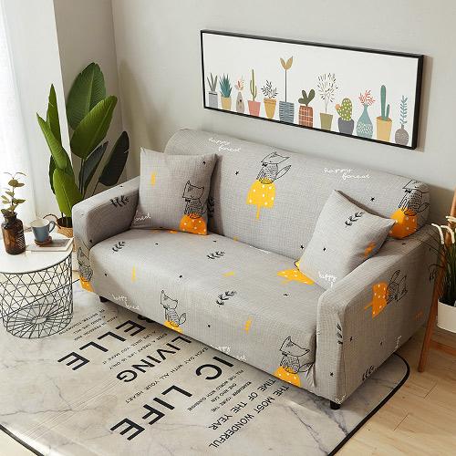 歐卓拉-狐狸安安 可機洗彈性沙發套