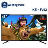 Westinghouse美國西屋 43吋 Full HD液晶電視+視訊盒 KE-43V02