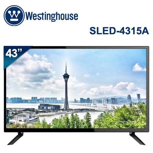 Westinghouse美國西屋 43吋 4K UHD液晶電視 視訊盒 SLED~4315