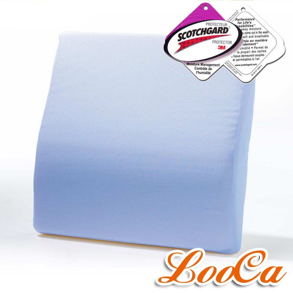 (團購) LooCa 吸濕排汗釋壓腰靠墊 4入 (共4色)