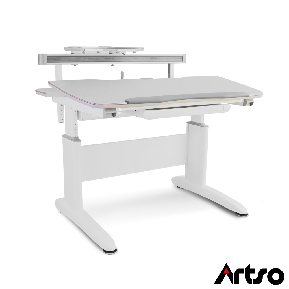 【Artso亞梭】DA桌/桌板120cm 機械式可調桌面傾仰設計遠離腰酸背痛人體工學書桌健康傢俱/電腦桌