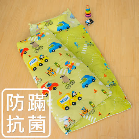 鴻宇-防蹣抗菌 舖棉兩用兒童睡袋