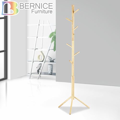Bernice-造型全實木衣帽架(DIY)