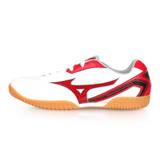 (男女) MIZUNO CROSSMATCH PLIO RX4 桌球鞋-乒乓 美津濃 白紅