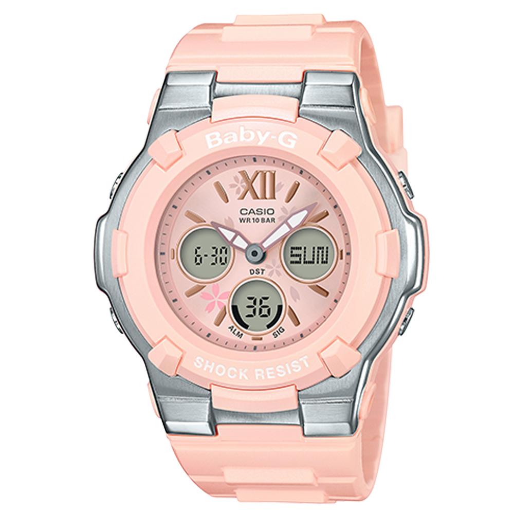BABY-G 雙顯女錶 防水100米 世界時間 BGA-110BL-4B