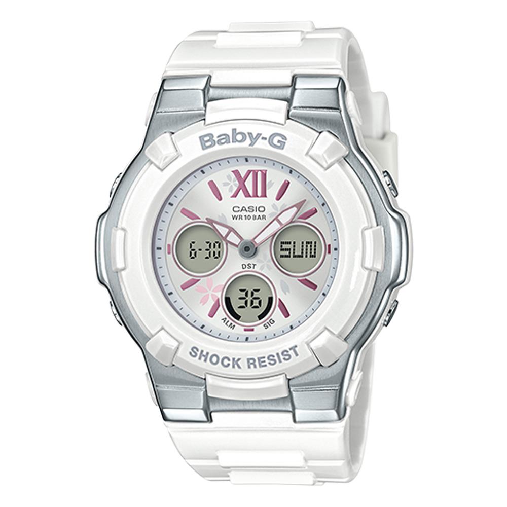 BABY-G 雙顯女錶 防水100米 世界時間 BGA-110BL-7B