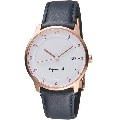 agnes b.法國時尚簡約時尚錶 VJ42-KZ30Z  BS9001J1