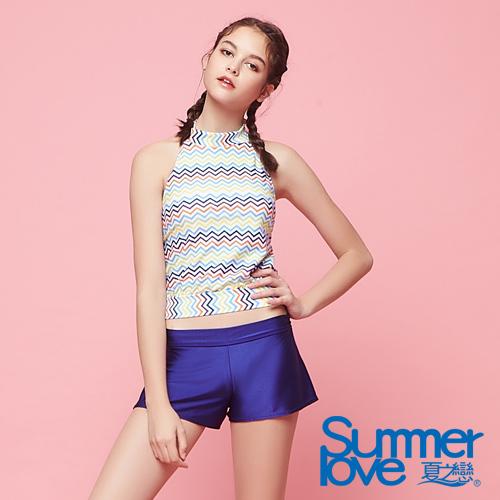 【夏之戀SUMMER LOVE】大女長版三件式泳衣S18721