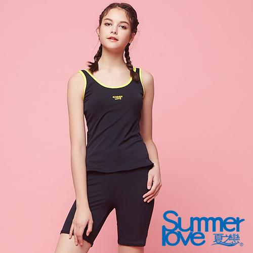 【夏之戀SUMMER LOVE】大女長版二件式泳衣S18722
