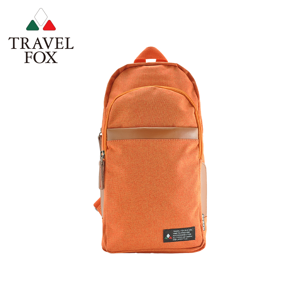 【TRAVEL FOX 旅狐】單肩/雙肩兩用輕巧後背包 (TB689-16) 橘色