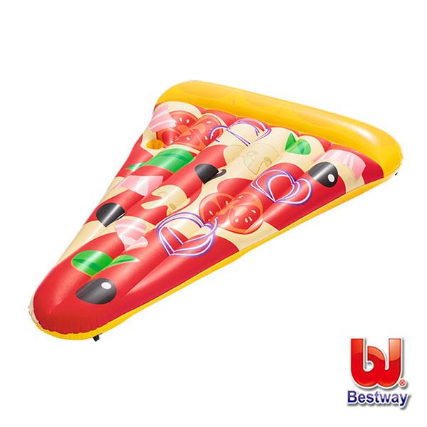 《購犀利》Bestway。美味披薩造型充氣浮排/pizza泳圈/浮板