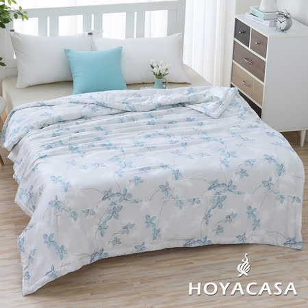 HOYACASA涼爽輕柔 100%天絲四季被5x6尺
