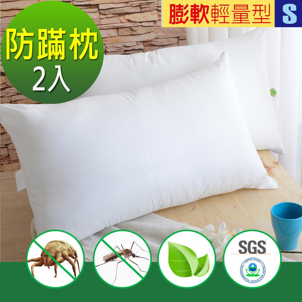 (團購2入)法國滅蹣技術-天然防蹣防蚊枕-輕量型