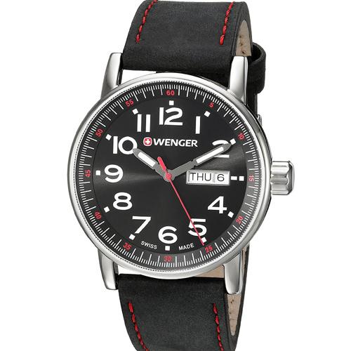 瑞士 WENGER Attitude 態度系列休閒時尚腕錶 01.0341.103