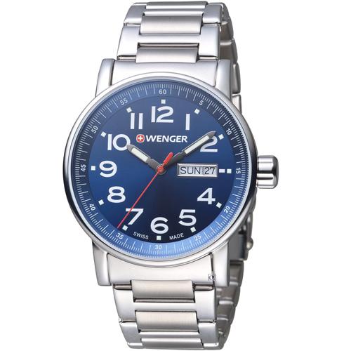 瑞士WENGER Attitude 態度系列 野營休閒腕錶  01.0341.105