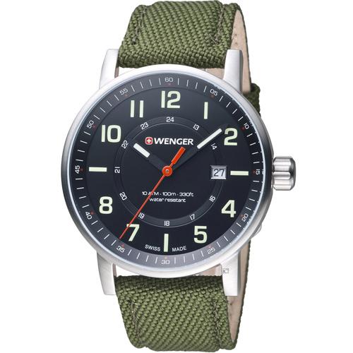 瑞士 WENGER Attitude 態度系列 野營生活時尚腕錶 01.0341.107