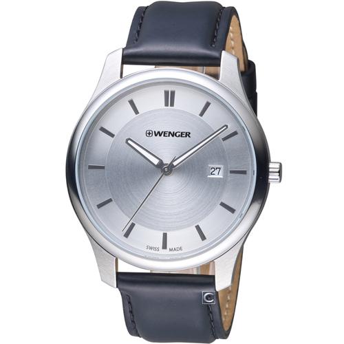 瑞士 WENGER City 城市系列 經典簡約紳士腕錶 01.1441.102