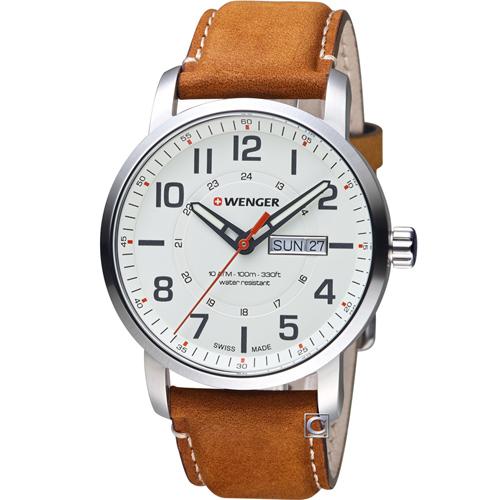 瑞士 WENGER Attitude 態度系列 野營生活時尚腕錶 01.1541.103