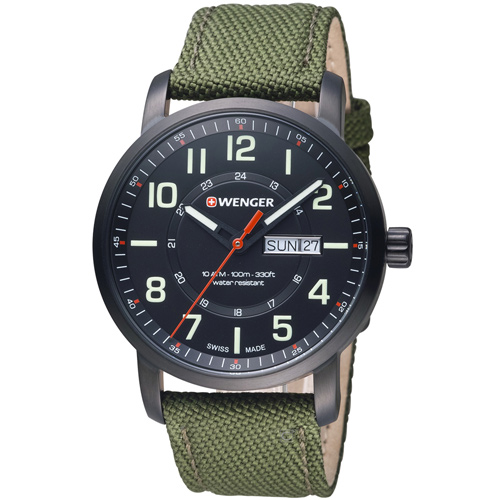 瑞士 WENGER Attitude 態度系列 野營生活時尚腕錶 01.1541.104