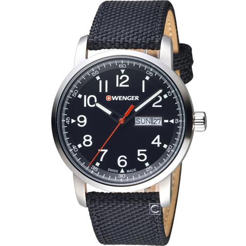 瑞士 WENGER Attitude 態度系列簡單生活時尚腕錶 01.1541.105
