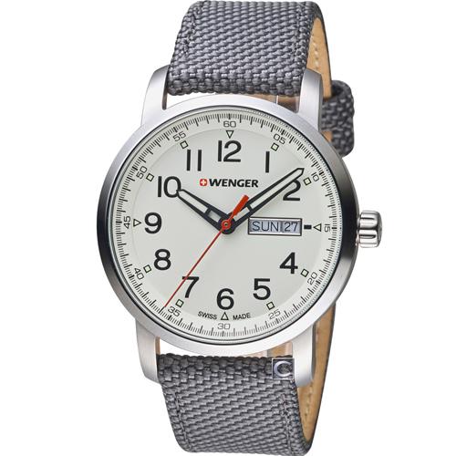 瑞士 WENGER Attitude 態度系列簡單生活時尚腕錶 01.1541.106