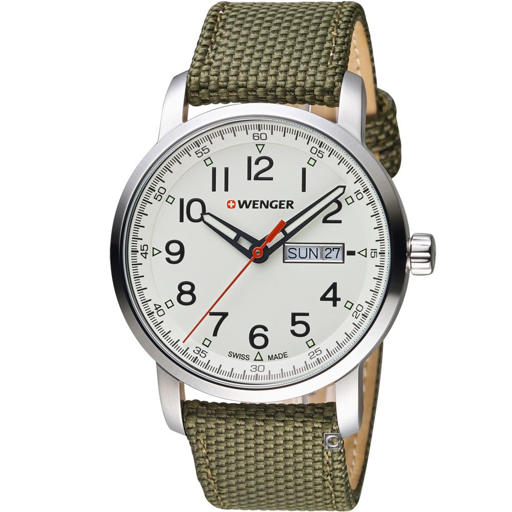 瑞士 WENGER Attitude態度系列簡單生活時尚腕錶 01.1541.110