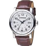 瑞士 WENGER 都會系列漫步城市紳士錶 01.1041.114