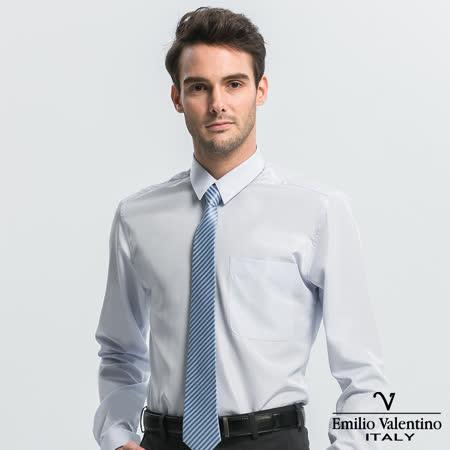 Emilio Valentino  修身長袖襯衫