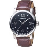 瑞士WENGER Urban 都會系列 都市美學紳士腕錶 01.1041.128